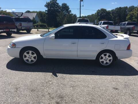 2006 Nissan Sentra for sale at TAVERN MOTORS in Laurens SC