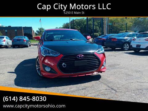 2016 Hyundai Veloster for sale at Cap City Motors LLC in Columbus OH