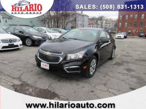 2016 Chevrolet Cruze Limited for sale at Hilario's Auto Sales in Worcester MA