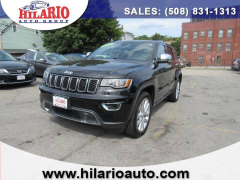 2017 Jeep Grand Cherokee for sale at Hilario's Auto Sales in Worcester MA