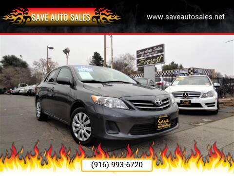 2013 Toyota Corolla for sale at Save Auto Sales in Sacramento CA