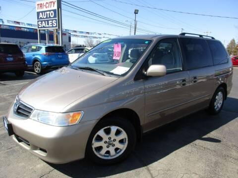 2004 Honda Odyssey for sale at TRI CITY AUTO SALES LLC in Menasha WI