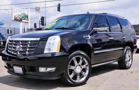 2008 Cadillac Escalade for sale at Luxor Motors Inc in Pacoima CA