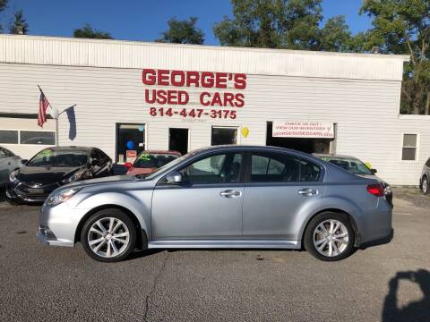 2013 Subaru Legacy for sale at George's Used Cars Inc in Orbisonia PA