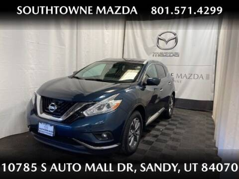 2017 Nissan Murano for sale at Southtowne Mazda of Sandy in Sandy UT