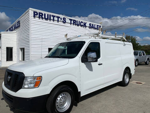 2016 Nissan NV Cargo for sale at Pruitt's Truck Sales in Marietta GA