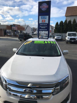 2011 Ford Fusion for sale at Ramstroms Service Center in Worcester MA