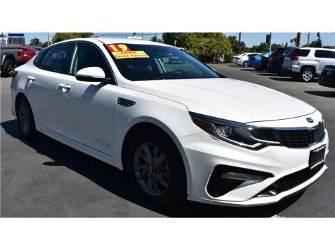 2019 Kia Optima for sale at ATWATER AUTO WORLD in Atwater CA