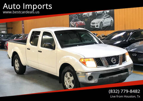 2007 Nissan Frontier for sale at Auto Imports in Houston TX