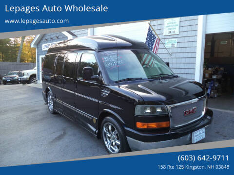 2010 GMC Savana Cargo for sale at Lepages Auto Wholesale in Kingston NH