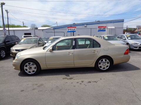 2003 Lexus LS 430 for sale at Cars Unlimited Inc in Lebanon TN