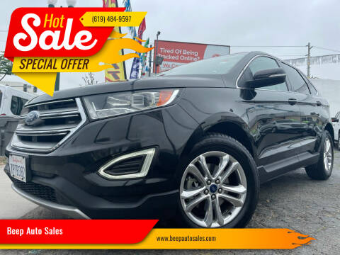2015 Ford Edge for sale at Beep Auto Sales in National City CA