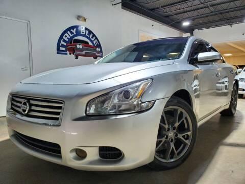 2011 Nissan Maxima for sale at Italy Blue Auto Sales llc in Miami FL