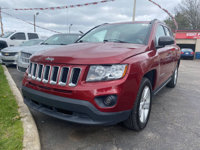 2017 Jeep Compass for sale at Right Place Auto Sales in Indianapolis IN