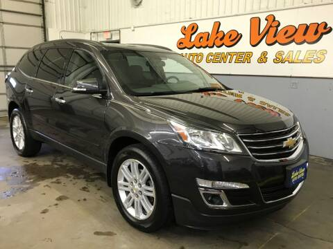 2015 Chevrolet Traverse for sale at Lake View Auto Center and Sales in Oshkosh WI