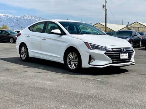 2020 Hyundai Elantra for sale at INVICTUS MOTOR COMPANY in West Valley City UT