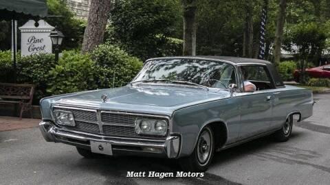 1965 Chrysler Imperial for sale at Matt Hagen Motors in Newport NC