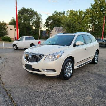 2015 Buick Enclave for sale at Bibian Brothers Auto Sales & Service in Joliet IL