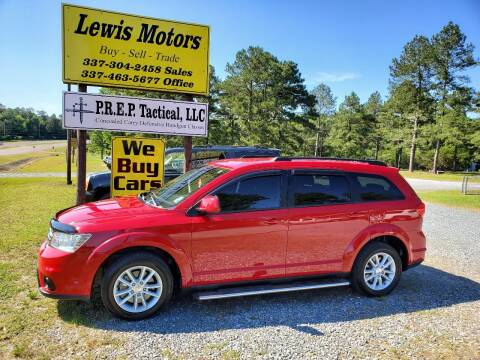 2013 Dodge Journey for sale at Lewis Motors LLC in Deridder LA