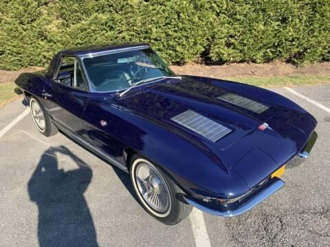 1963 Chevrolet Corvette for sale at Limitless Garage Inc. in Rockville MD