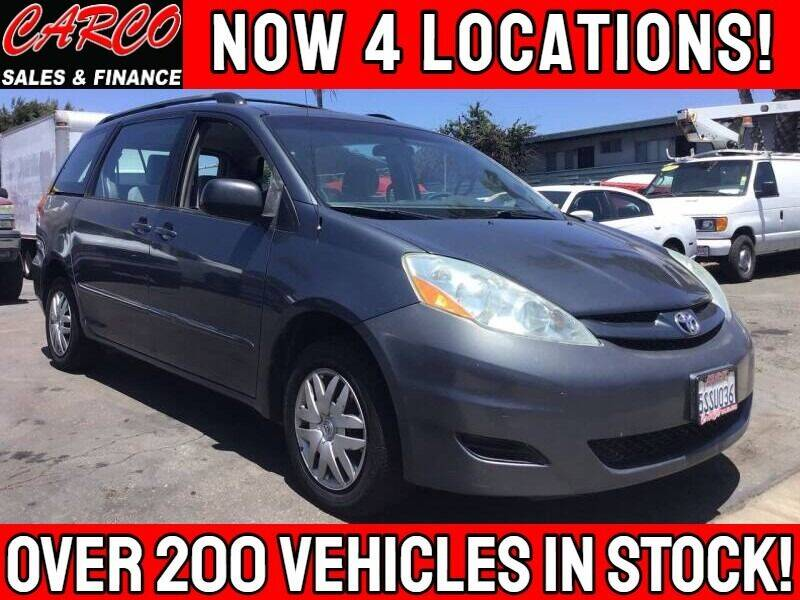 2006 Toyota Sienna for sale at CARCO SALES & FINANCE - Under 7000 in Chula Vista CA