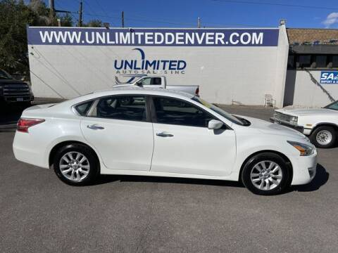 2014 Nissan Altima for sale at Unlimited Auto Sales in Denver CO