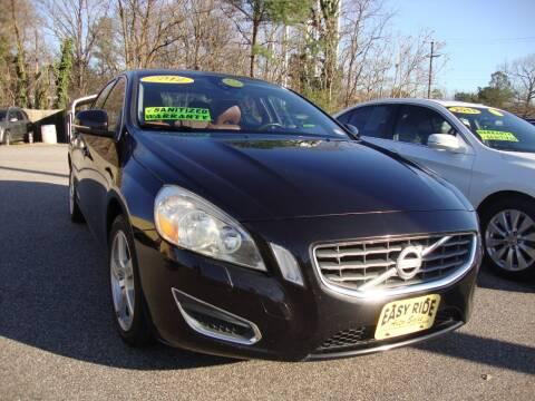 2012 Volvo S60 for sale at Easy Ride Auto Sales Inc in Chester VA