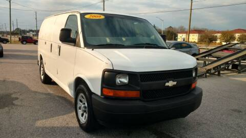 2009 Chevrolet Express Cargo for sale at Kelly & Kelly Supermarket of Cars in Fayetteville NC