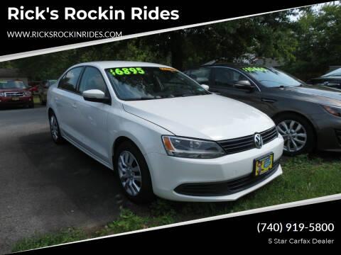 2012 Volkswagen Jetta for sale at Rick's Rockin Rides in Reynoldsburg OH