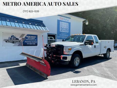 2011 Ford F-250 Super Duty for sale at METRO AMERICA AUTO SALES of Lebanon in Lebanon PA