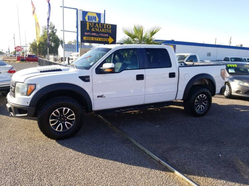 2012 Ford F-150 for sale at 1ST AUTO & MARINE in Apache Junction AZ