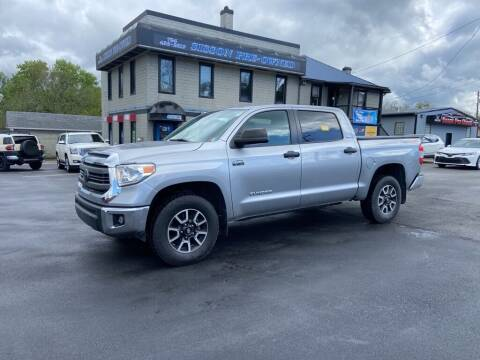 2014 Toyota Tundra for sale at Sisson Pre-Owned in Uniontown PA