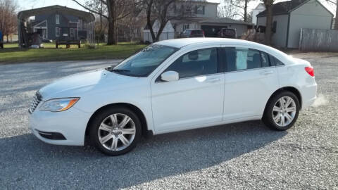 2013 Chrysler 200 for sale at MIKE'S CYCLE & AUTO - Mikes Cycle and Auto (Liberty) in Liberty IN