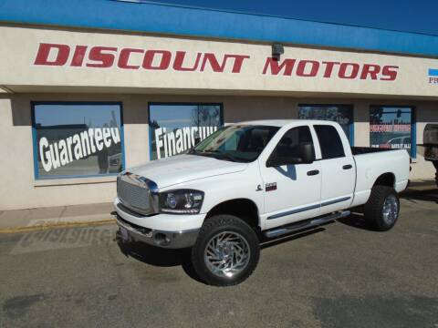 2008 Dodge Ram Pickup 2500 for sale at Discount Motors in Pueblo CO