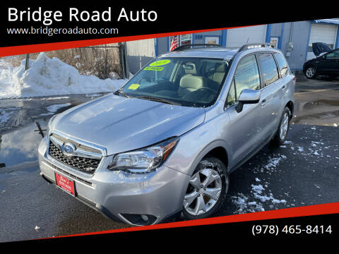 2014 Subaru Forester for sale at Bridge Road Auto in Salisbury MA