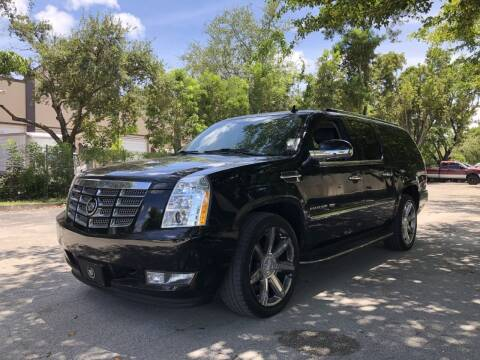 2012 Cadillac Escalade ESV for sale at Auto Direct of South Broward in Miramar FL