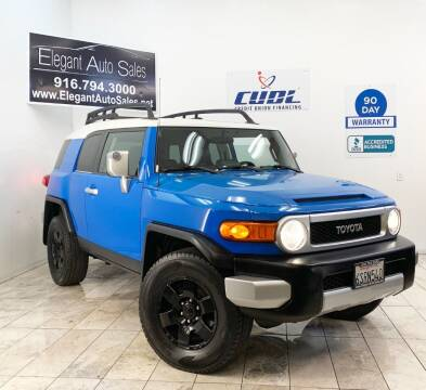 2008 Toyota FJ Cruiser for sale at Elegant Auto Sales in Rancho Cordova CA
