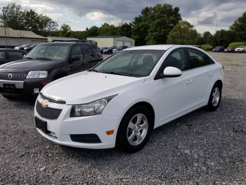 2012 Chevrolet Cruze for sale at Ridgeway's Auto Sales - Buy Here Pay Here in West Frankfort IL