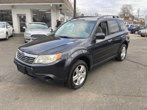 2010 Subaru Forester for sale at ENFIELD STREET AUTO SALES in Enfield CT