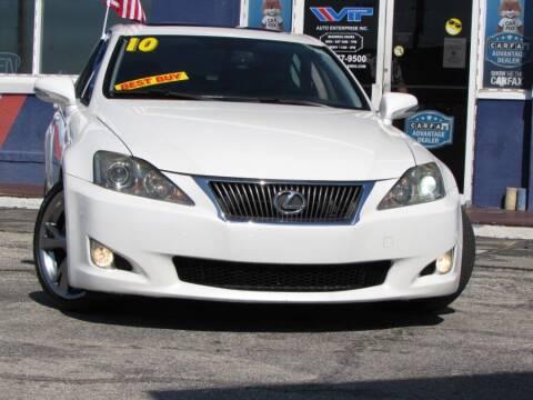 2010 Lexus IS 250 for sale at VIP AUTO ENTERPRISE INC. in Orlando FL
