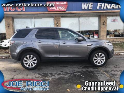 2017 Land Rover Discovery Sport for sale at Mr Intellectual Cars in Shelby Township MI