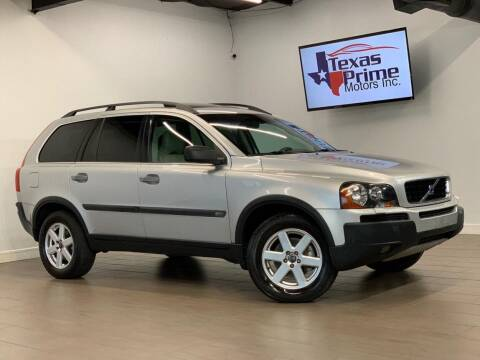 2004 Volvo XC90 for sale at Texas Prime Motors in Houston TX