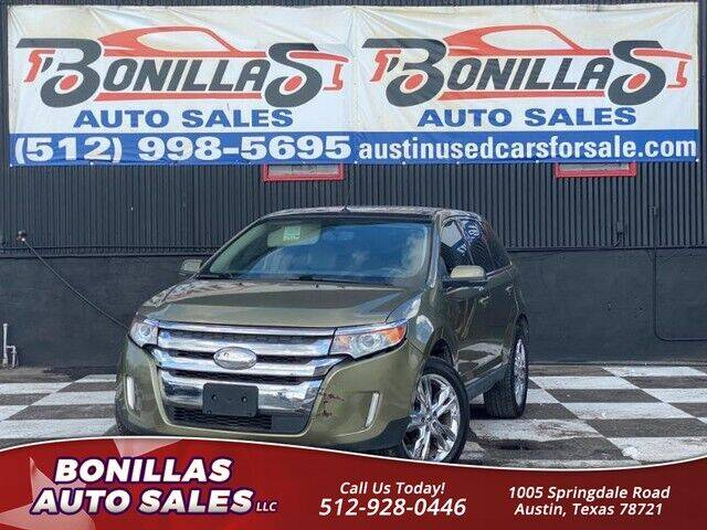 2013 Ford Edge for sale at Bonillas Auto Sales in Austin TX