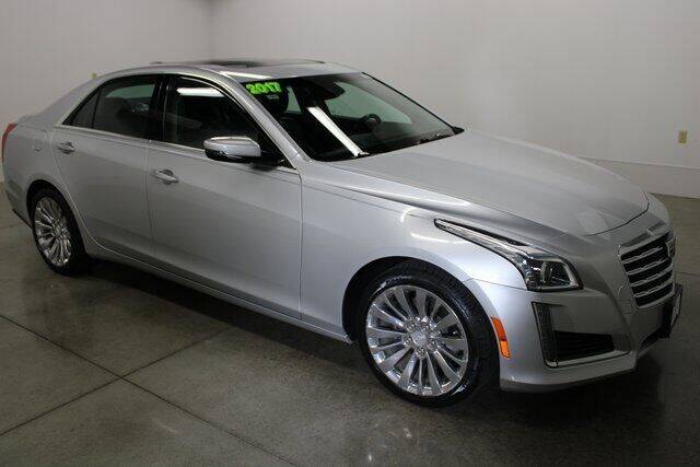 2017 Cadillac CTS for sale at Bob Clapper Automotive, Inc in Janesville WI