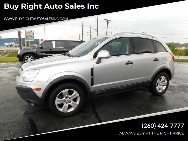 2014 Chevrolet Captiva Sport for sale at Buy Right Auto Sales Inc in Fort Wayne IN