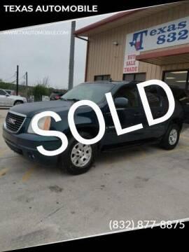 2007 GMC Yukon XL for sale at TEXAS AUTOMOBILE in Houston TX