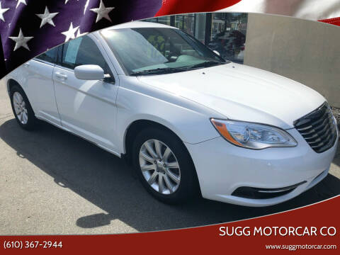 2012 Chrysler 200 for sale at Sugg Motorcar Co in Boyertown PA