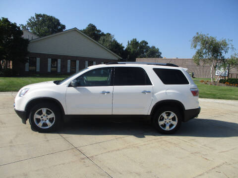 2012 GMC Acadia for sale at Lease Car Sales 2 in Warrensville Heights OH
