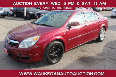 2007 Saturn Aura for sale at Waukegan Auto Auction in Waukegan IL