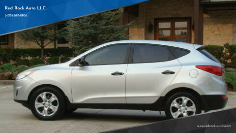 2010 Hyundai Tucson for sale at Red Rock Auto LLC in Oklahoma City OK